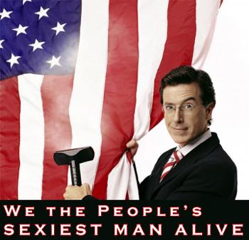 Steve Colbert: We the People's SEXIEST MAN ALIVE